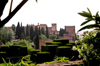 Famous Alhambra Built by the Moors