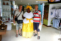 Martien & Jos with local Bahian woman